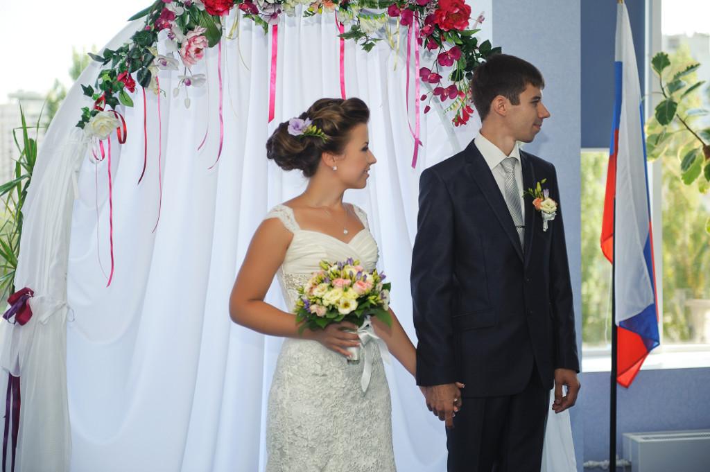 Свадебное предложение, оформление регистрации