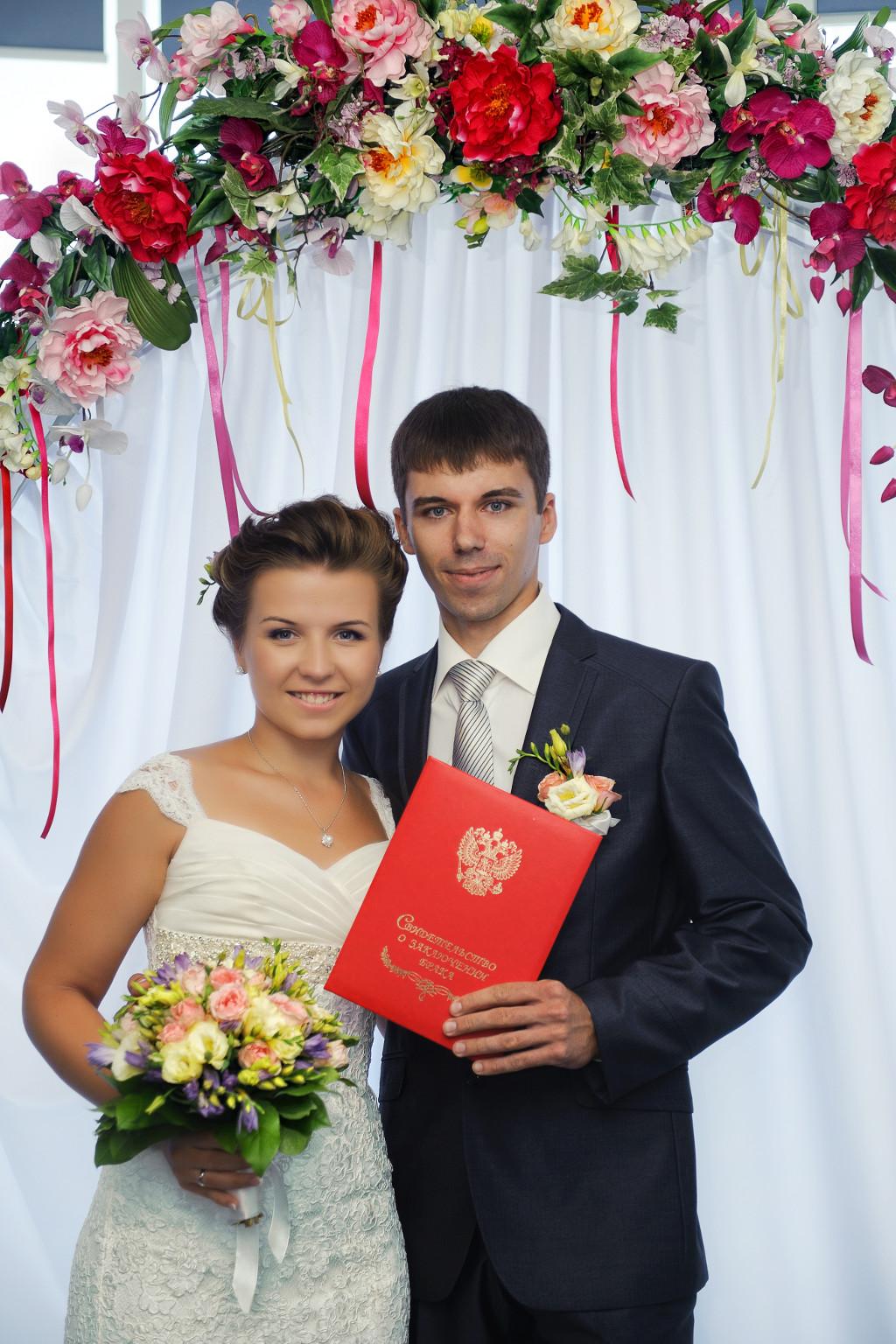 Бракосочетание с оформлением не в загсе