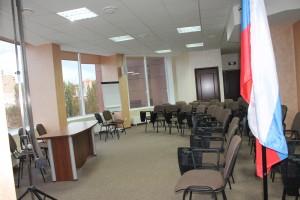 Представлены несколько фотографий конференц зала в Воронеже
